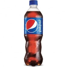 Pepsi Soft Drink, 600 ml Bottle