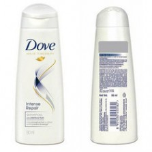 Dove hair therapy intense repair shampoo 80 ml