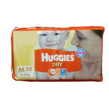 Huggies Dry Medium 30's