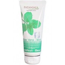 Patanjali Alovera Mint Face Wash 60 GM